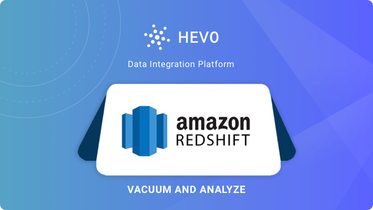 Amazon Redshift Vacuum and Analyze
