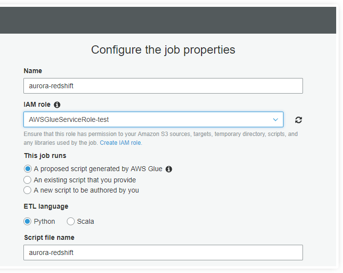 Aurora to Redshift: Steps to Migrate Data Using AWS Glue