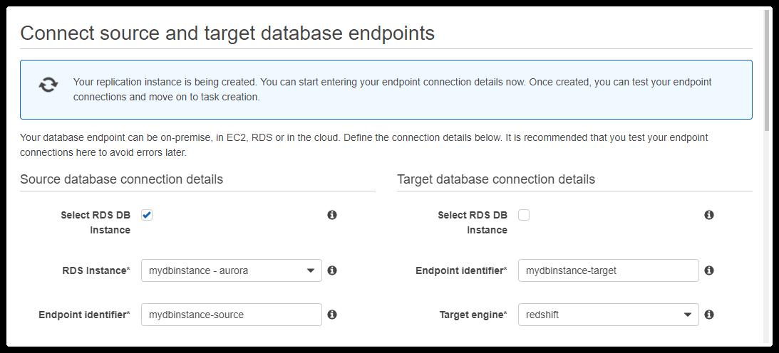 Aurora to Redshift: Steps to Migrate Data Using AWS DMS | Hevo Blog