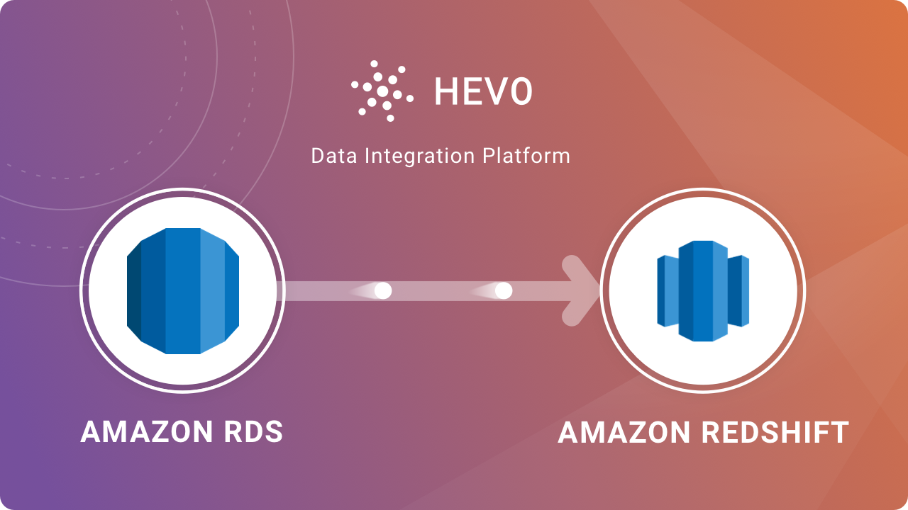 Amazon RDS to Redshift
