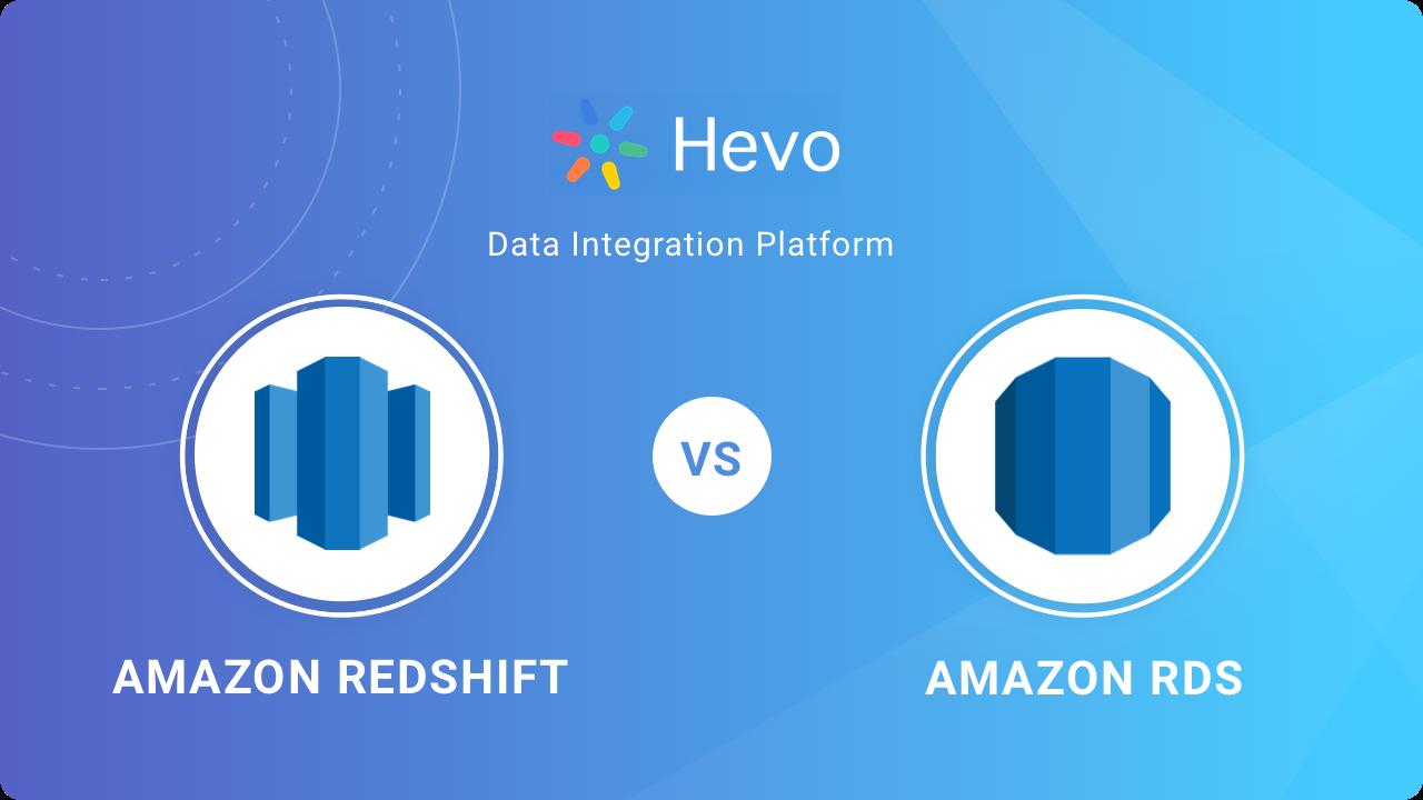 Amazon Redshift vs RDS