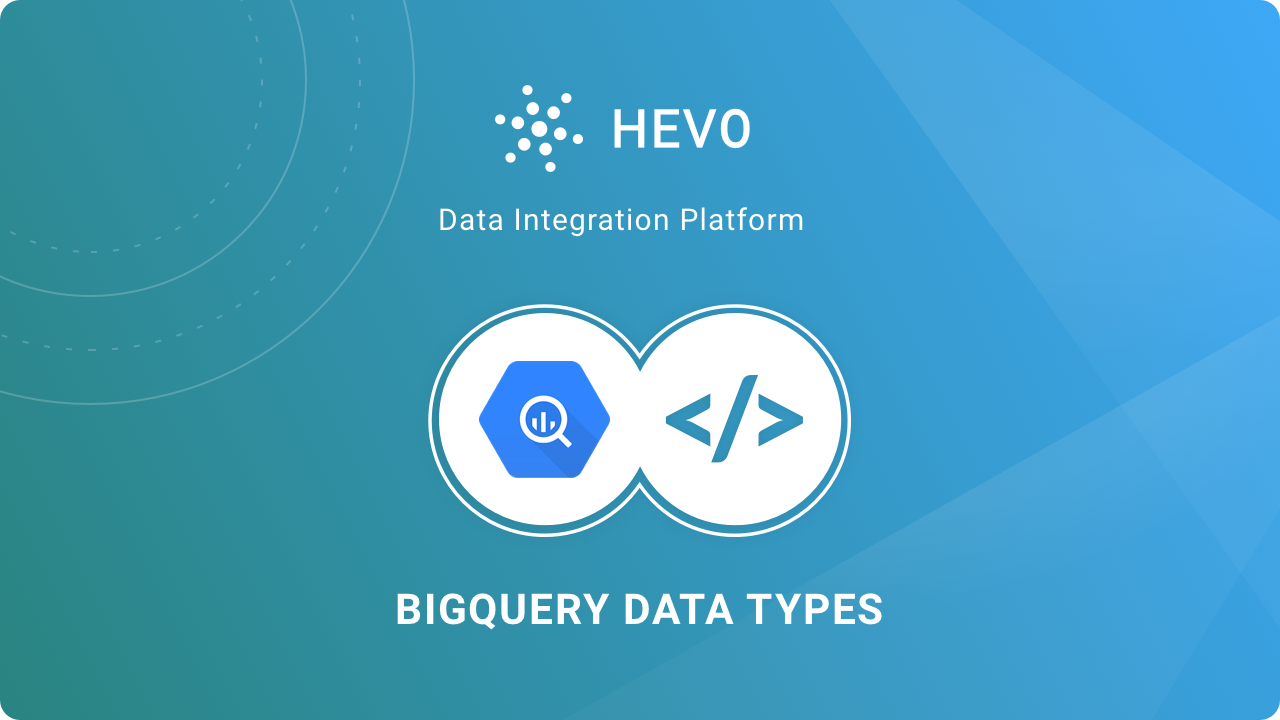 Google BigQuery Data types
