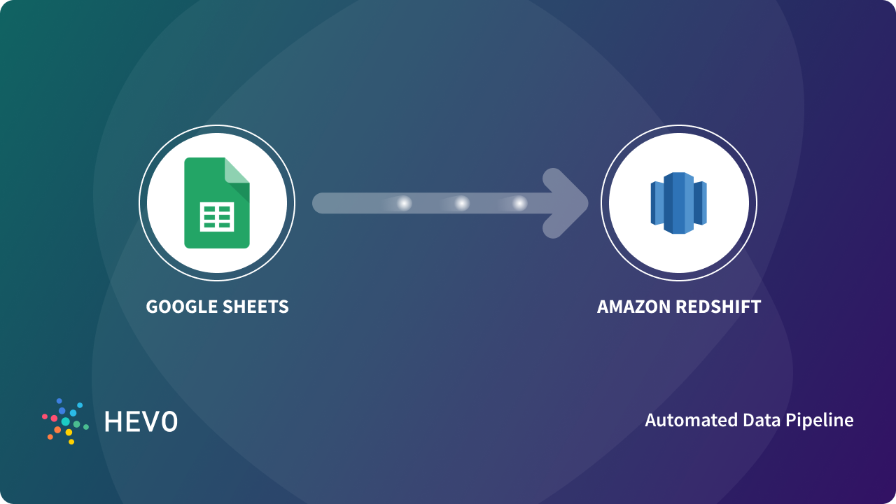 Google Sheets to Amazon Redshift